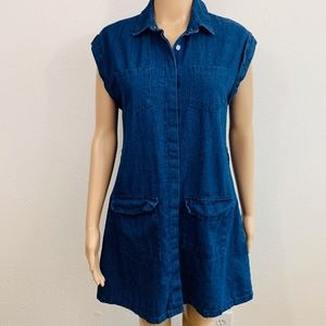 EUC Charlotte Russe Denim Dress XS